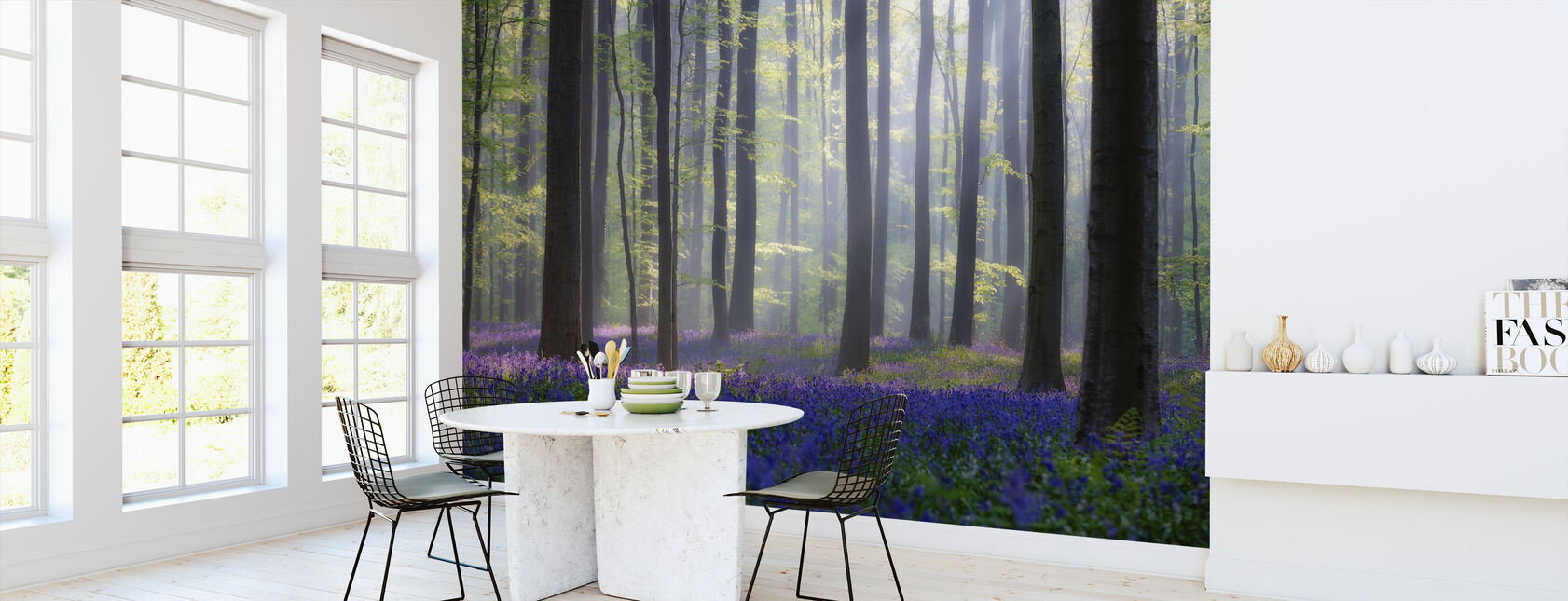 Bluebells - Wallpaper - Kitchen