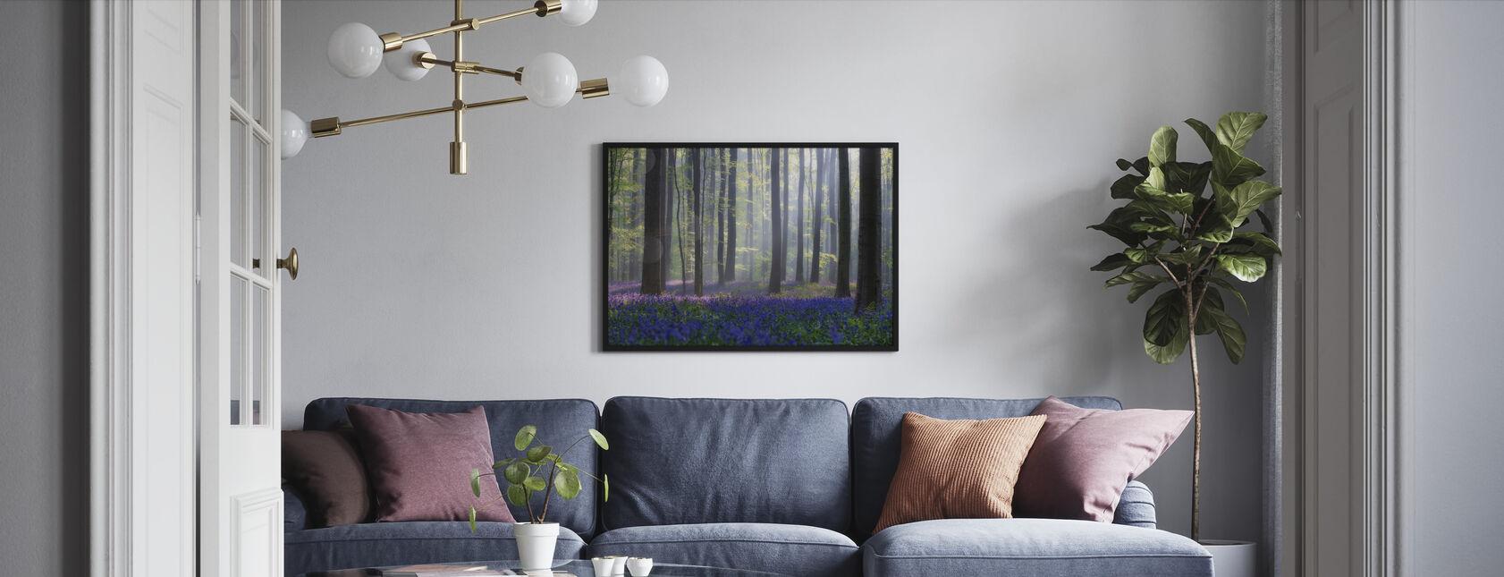 Bluebells - Framed print - Living Room