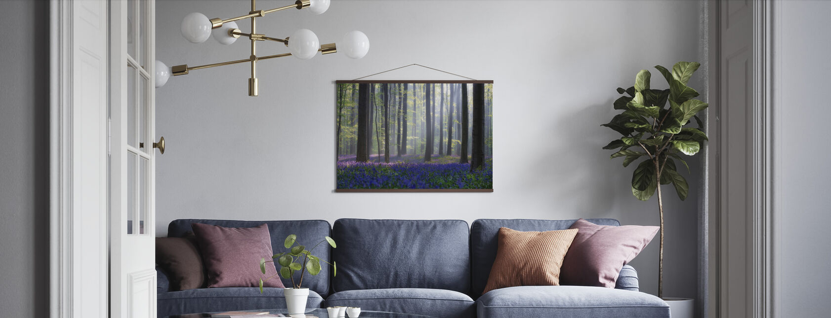 Bluebells - Poster - Living Room