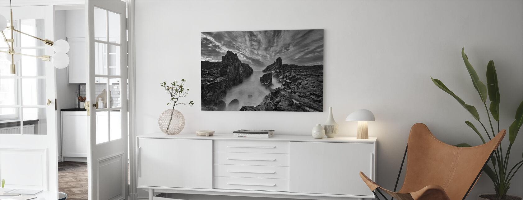 Portti taivaaseen - Canvastaulu - Olohuone