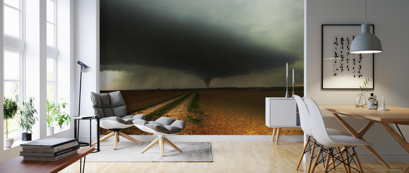 tornado landscape kostenlos gelieferte fototapete von h chster qualit t photowall. Black Bedroom Furniture Sets. Home Design Ideas