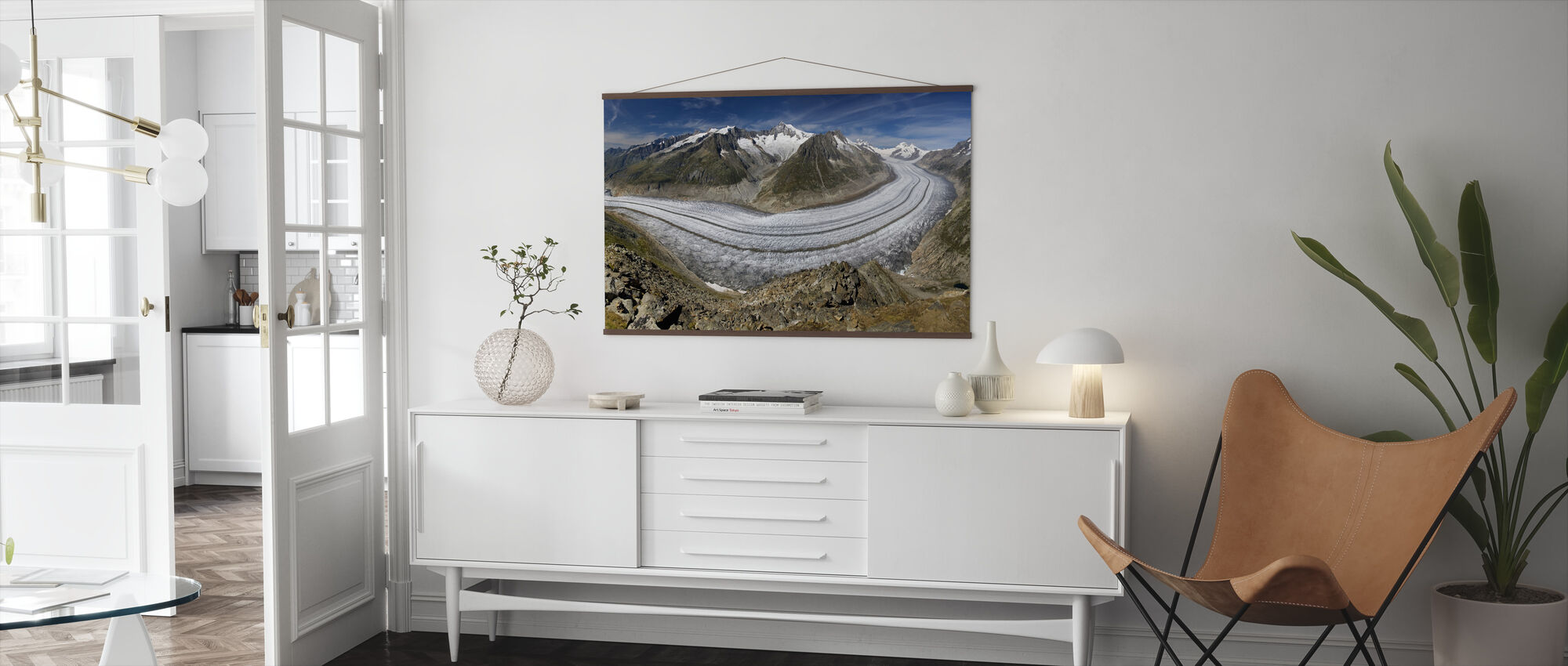Glacier - Poster - Living Room