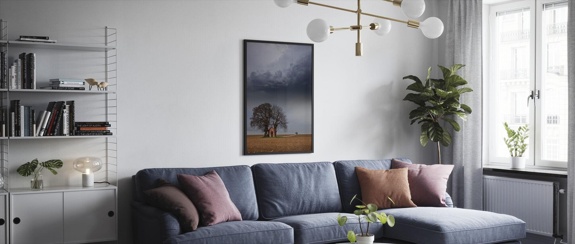 Lonely House - Framed print - Living Room