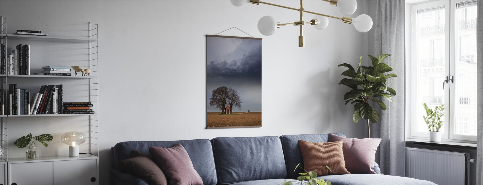 Lonely House - Poster - Living Room