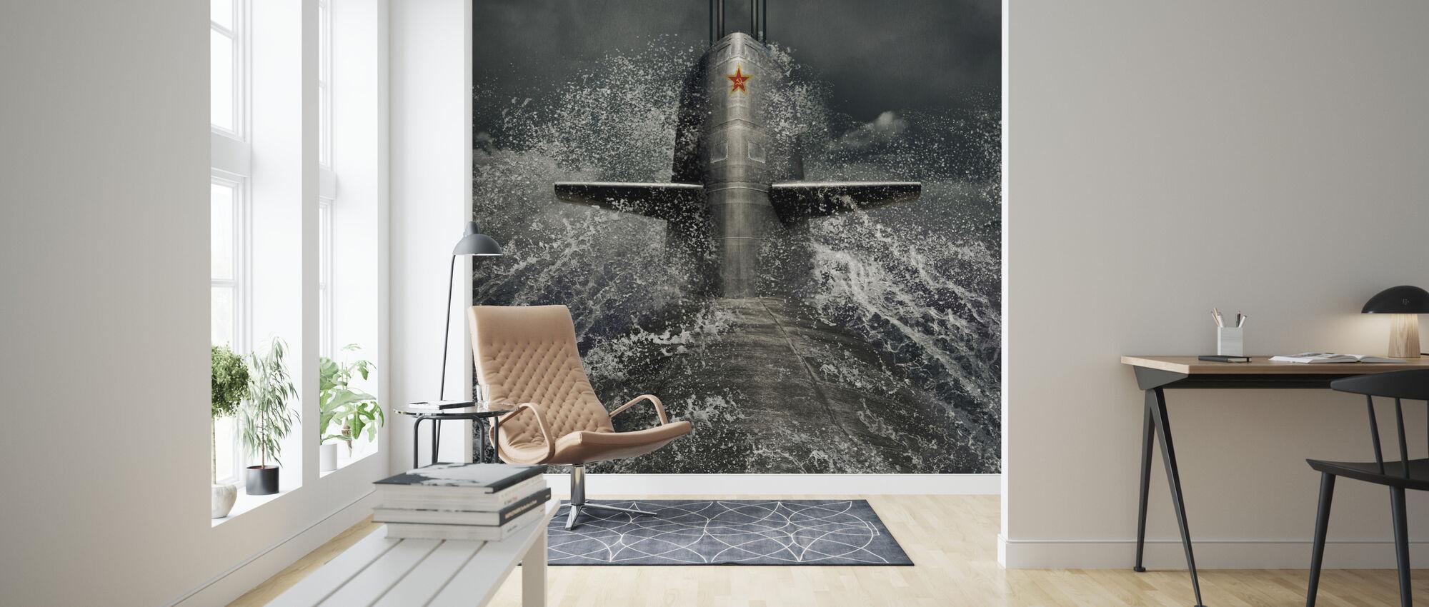 Submarine - Wallpaper - Living Room