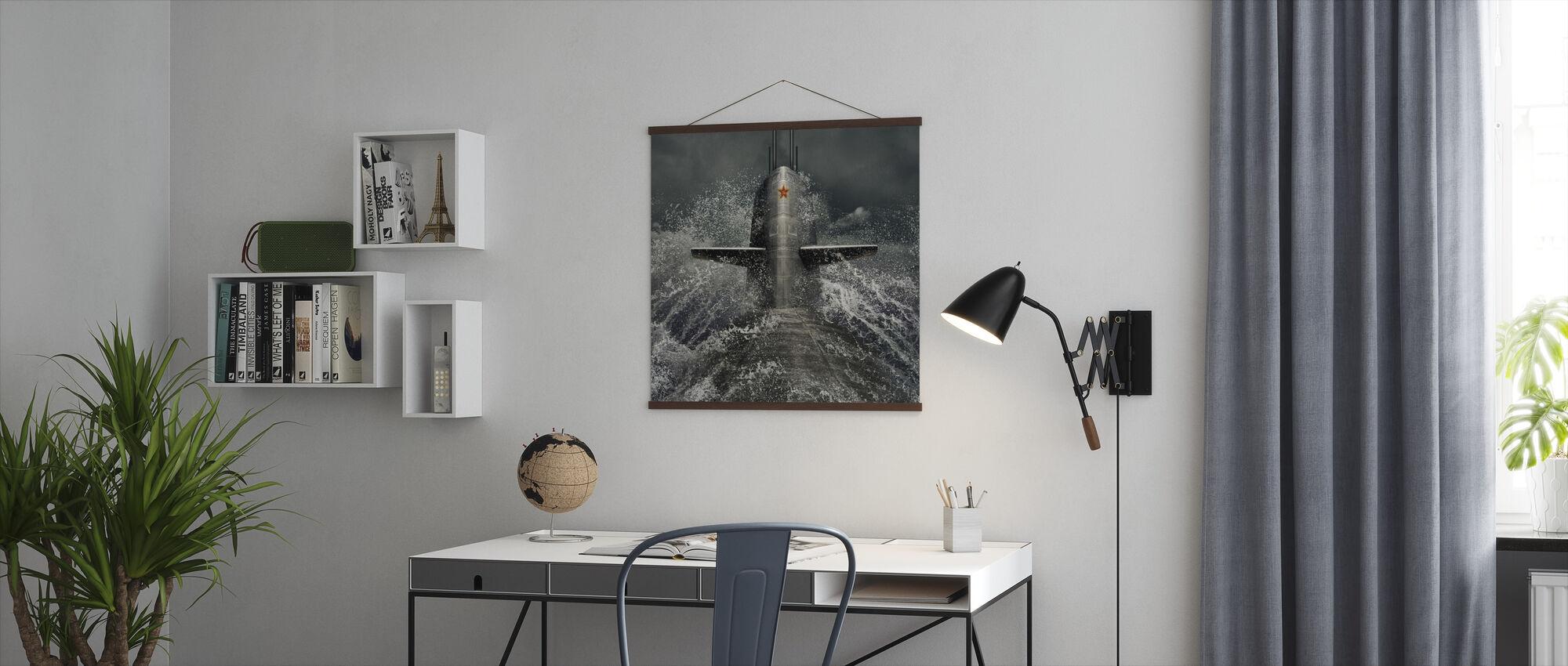Submarino - Póster - Oficina