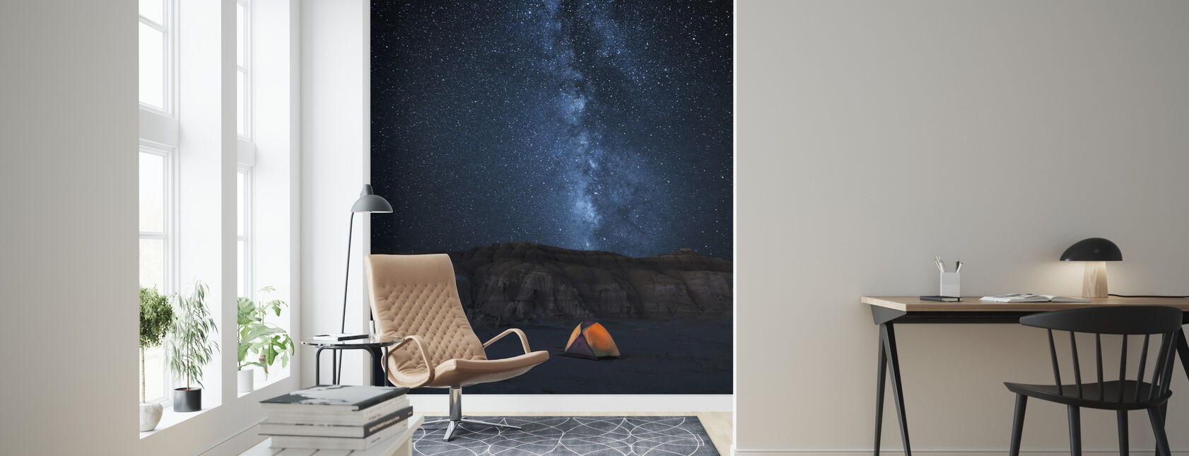 Starry Sky - Wallpaper - Living Room