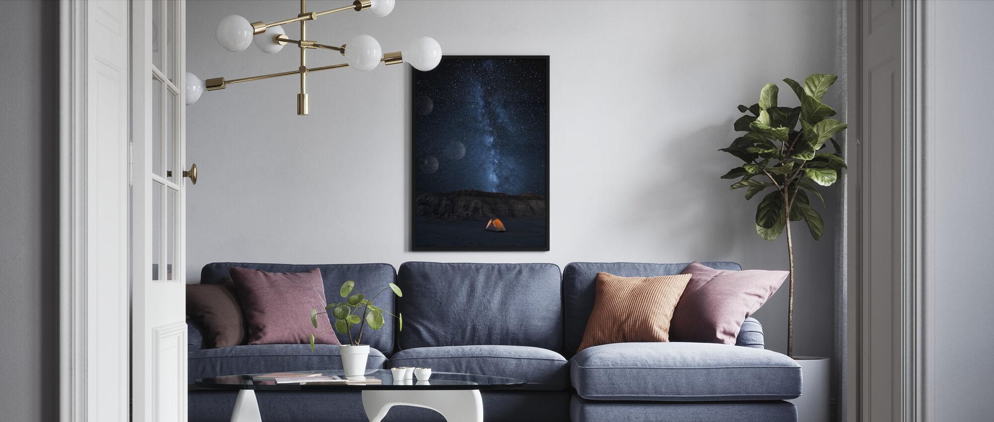 Starry Sky - Framed print - Living Room