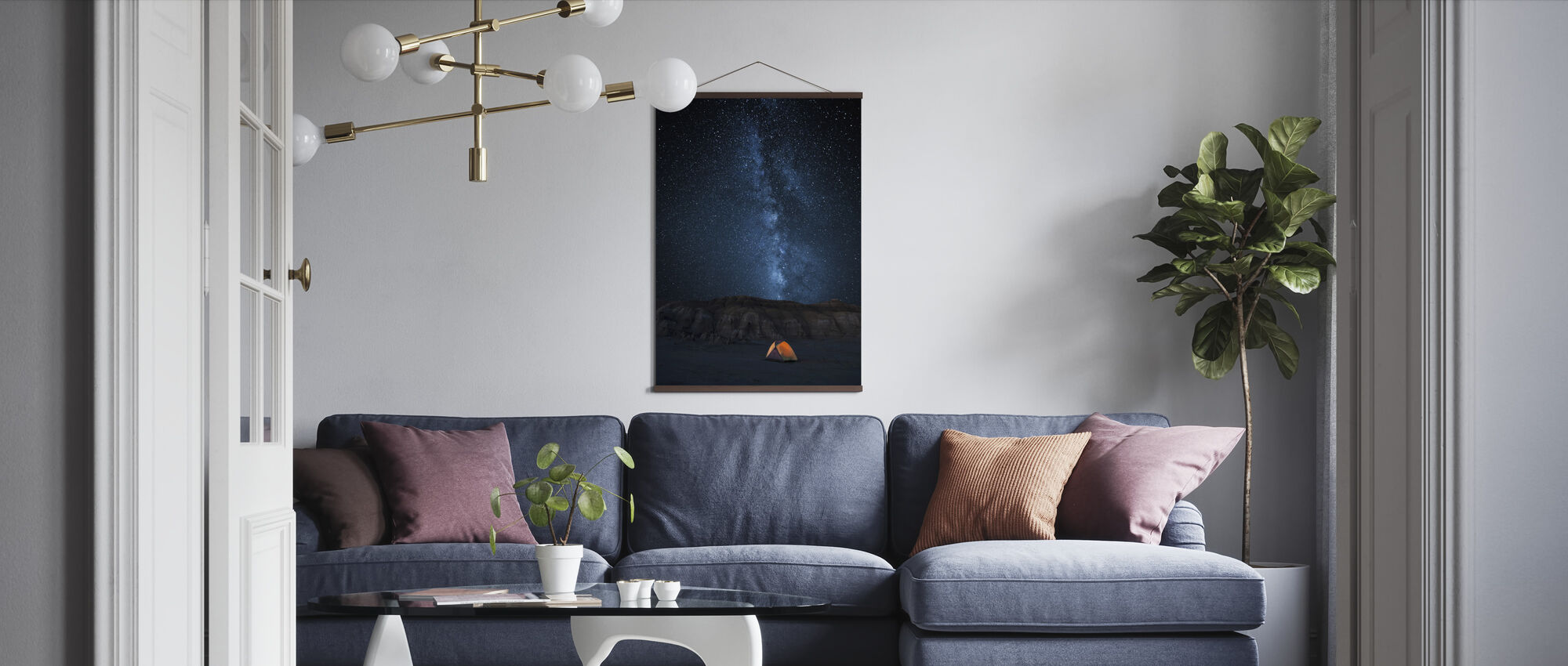 Starry Sky - Poster - Living Room