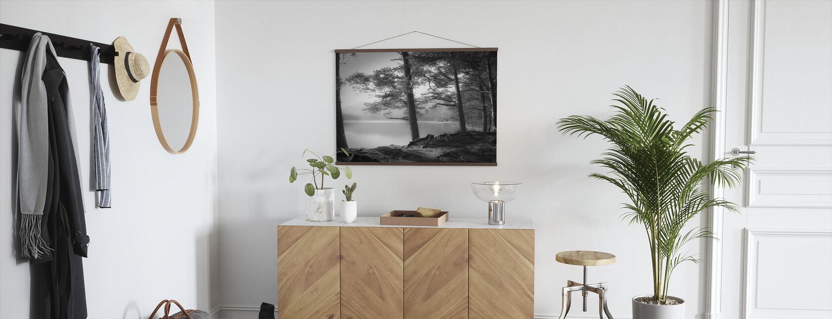 Lake - Grey - Poster - Hallway