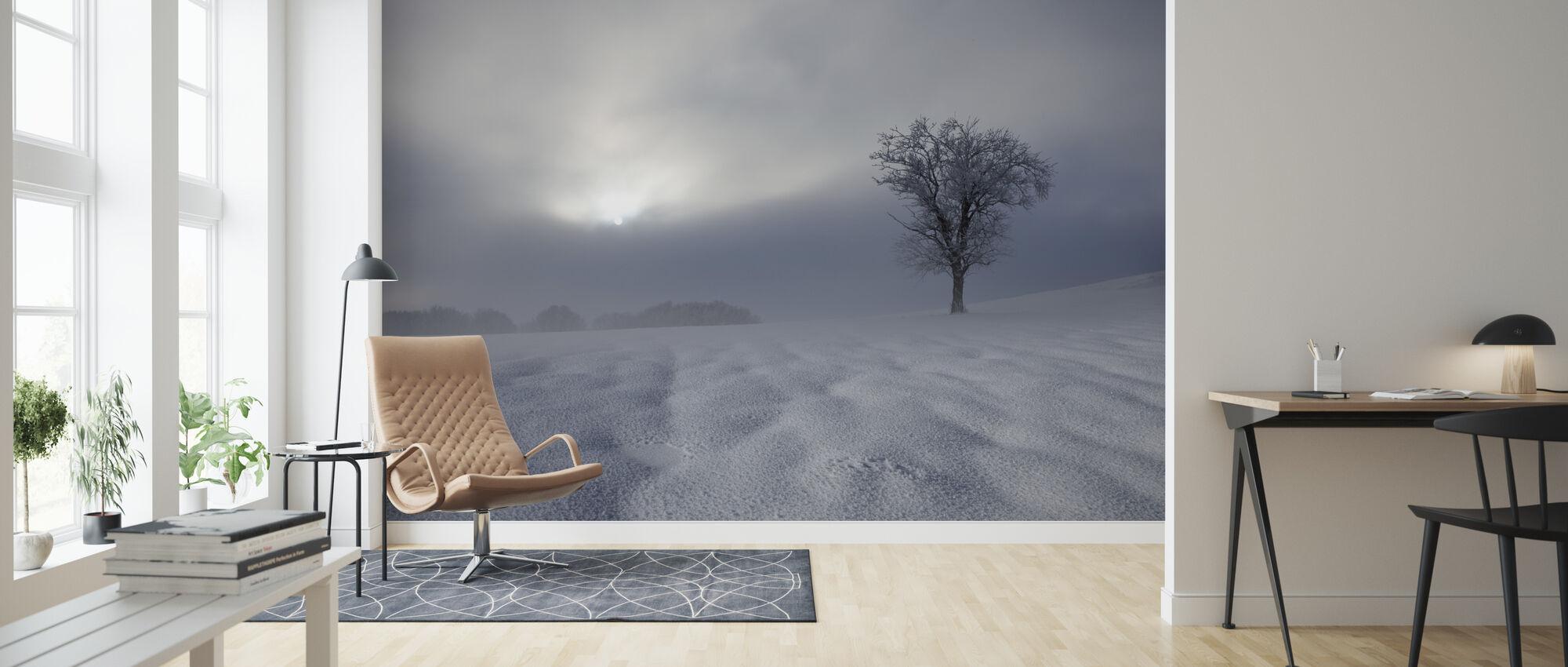 Talvi vaikutelma - Tapetti - Olohuone