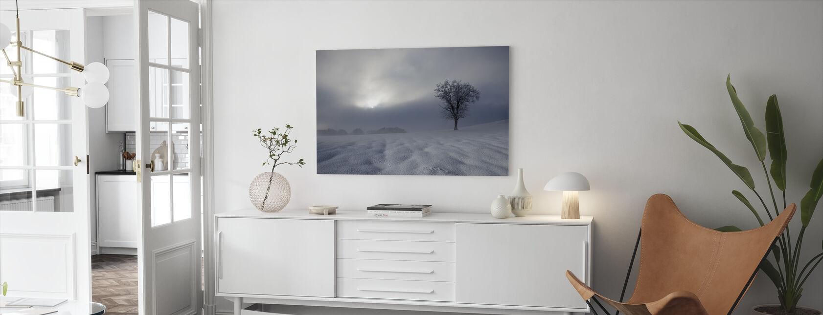 Winter Impression - Canvas print - Living Room