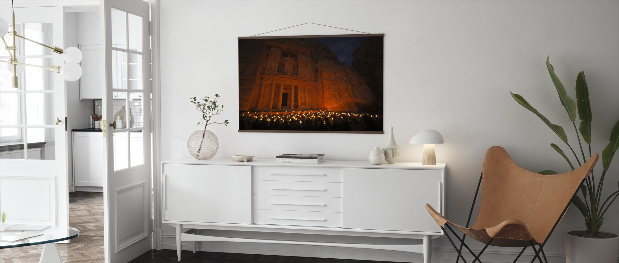 Treasury By Night - Poster - Living Room