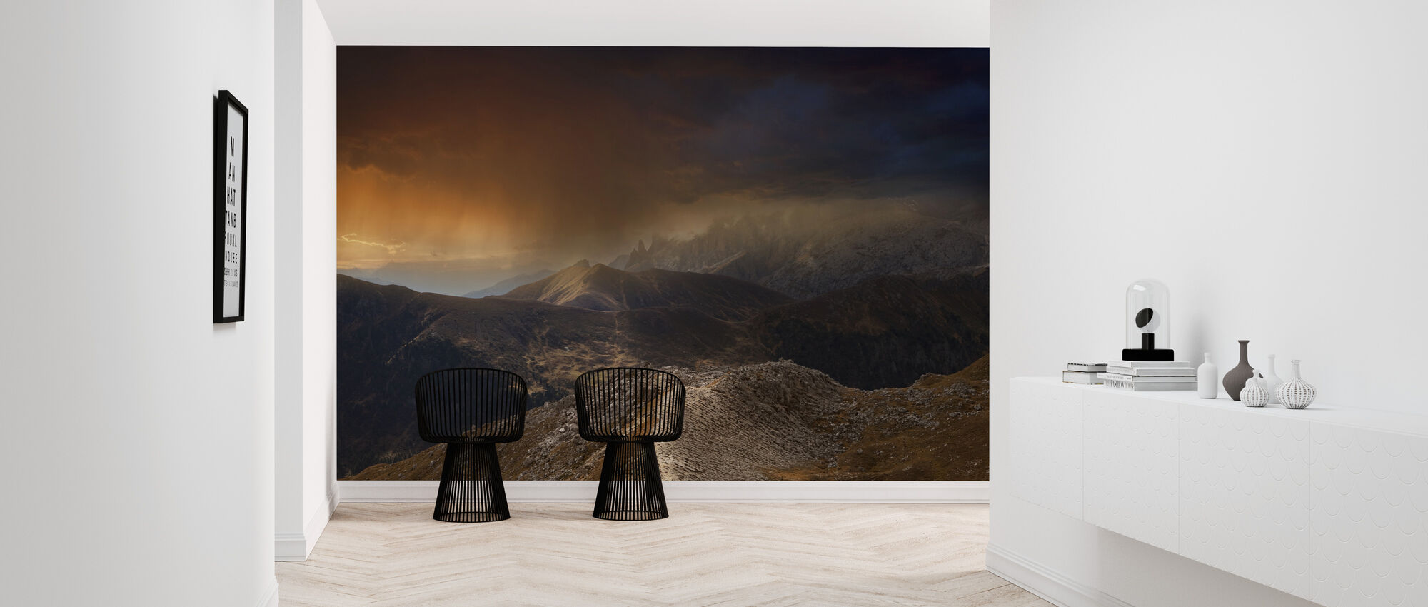 Mystic Mountains - Wallpaper - Hallway