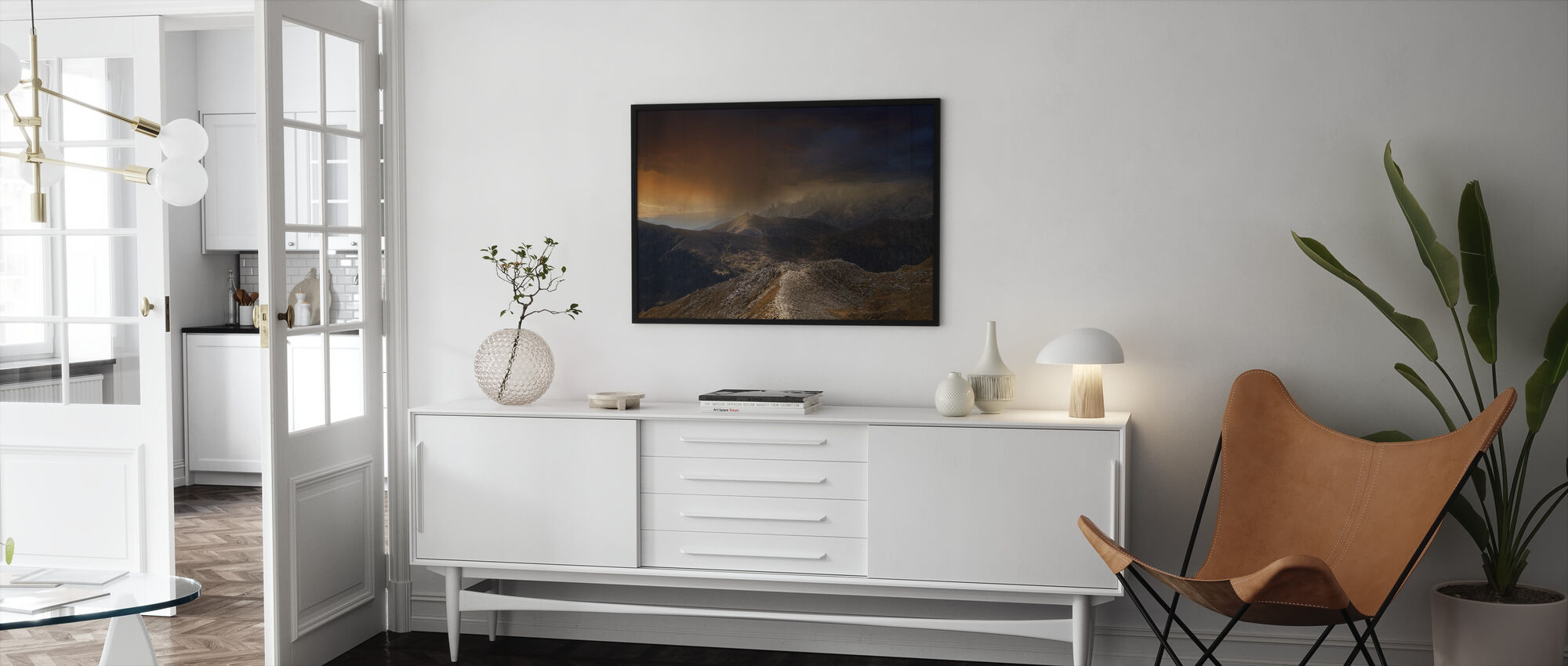 Mystic Mountains - Framed print - Living Room