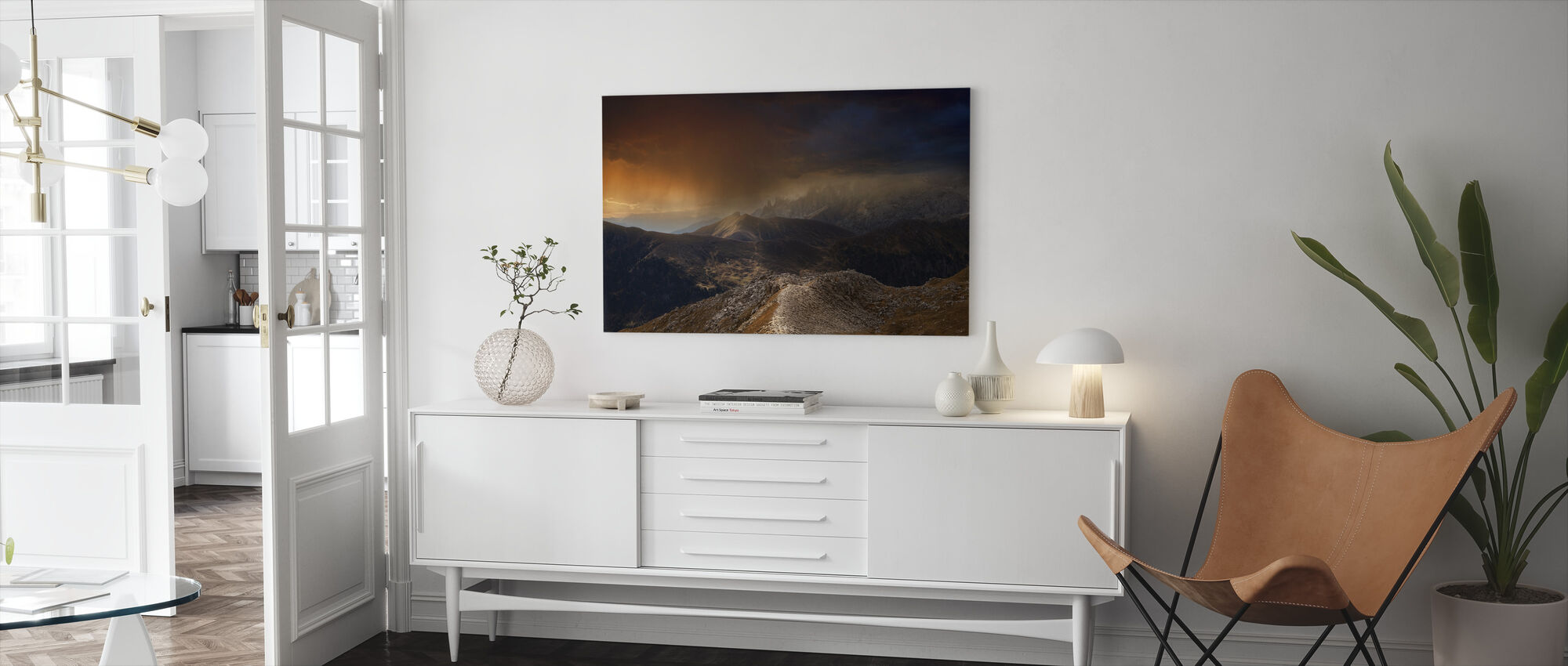 Mystic Mountains - Canvas print - Living Room