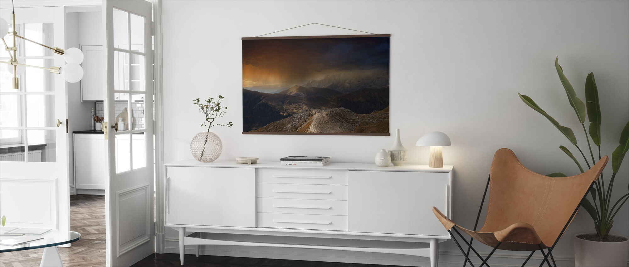 Mystic Mountains - Poster - Living Room