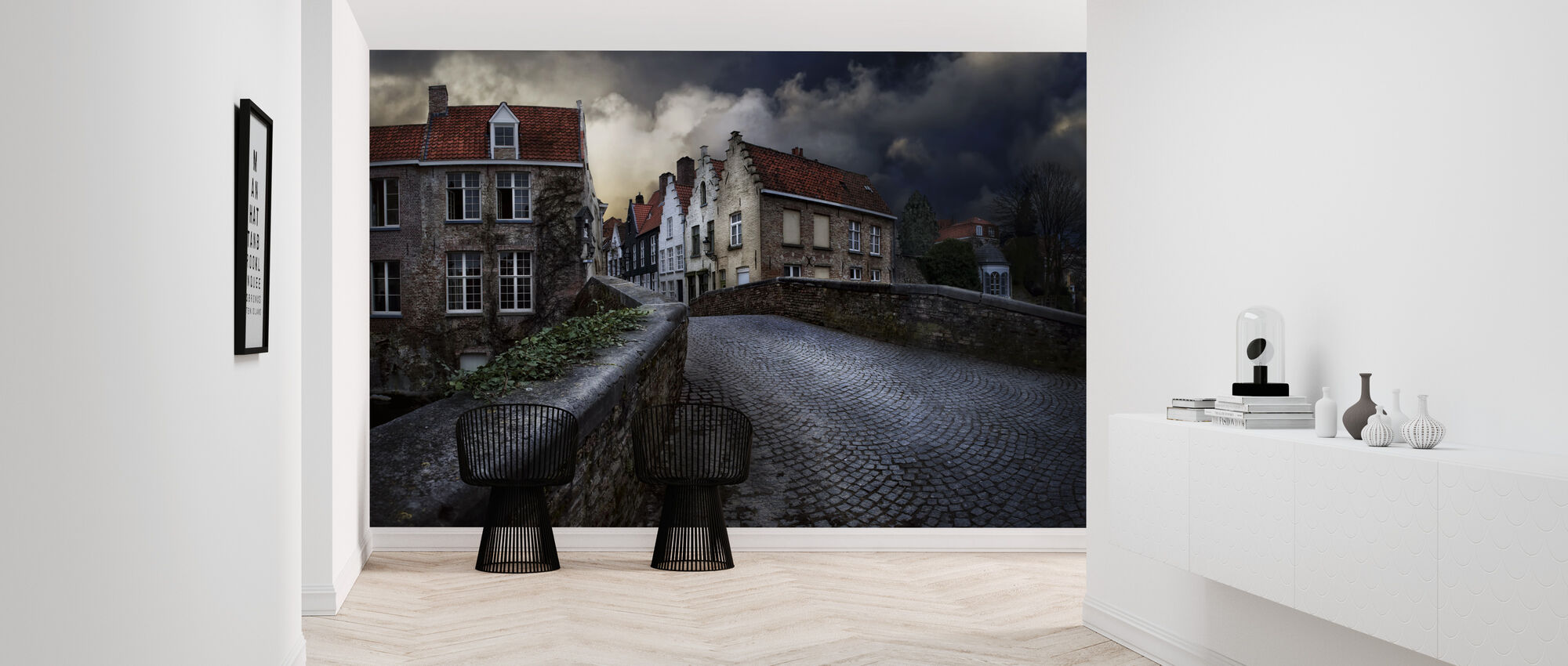 Bridge in Bruges - Wallpaper - Hallway