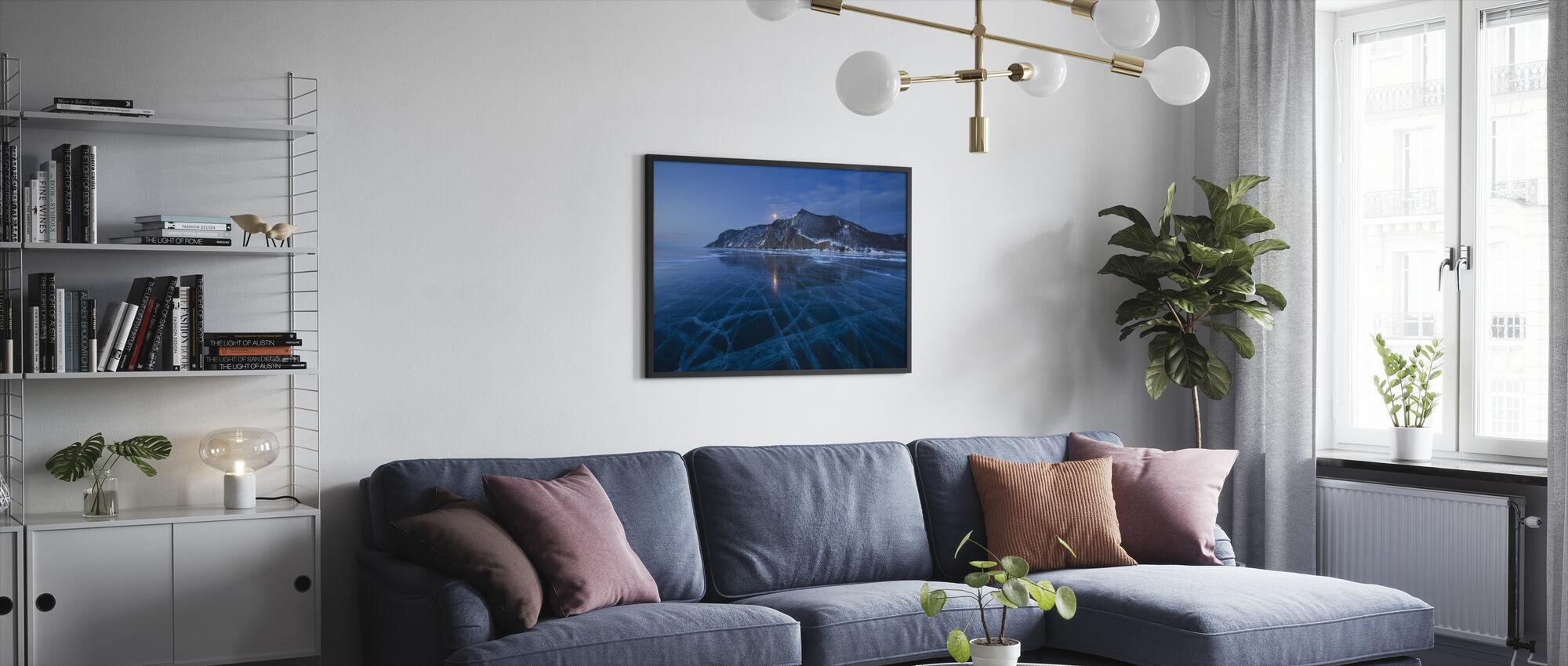 Frozen Lake - Framed print - Living Room
