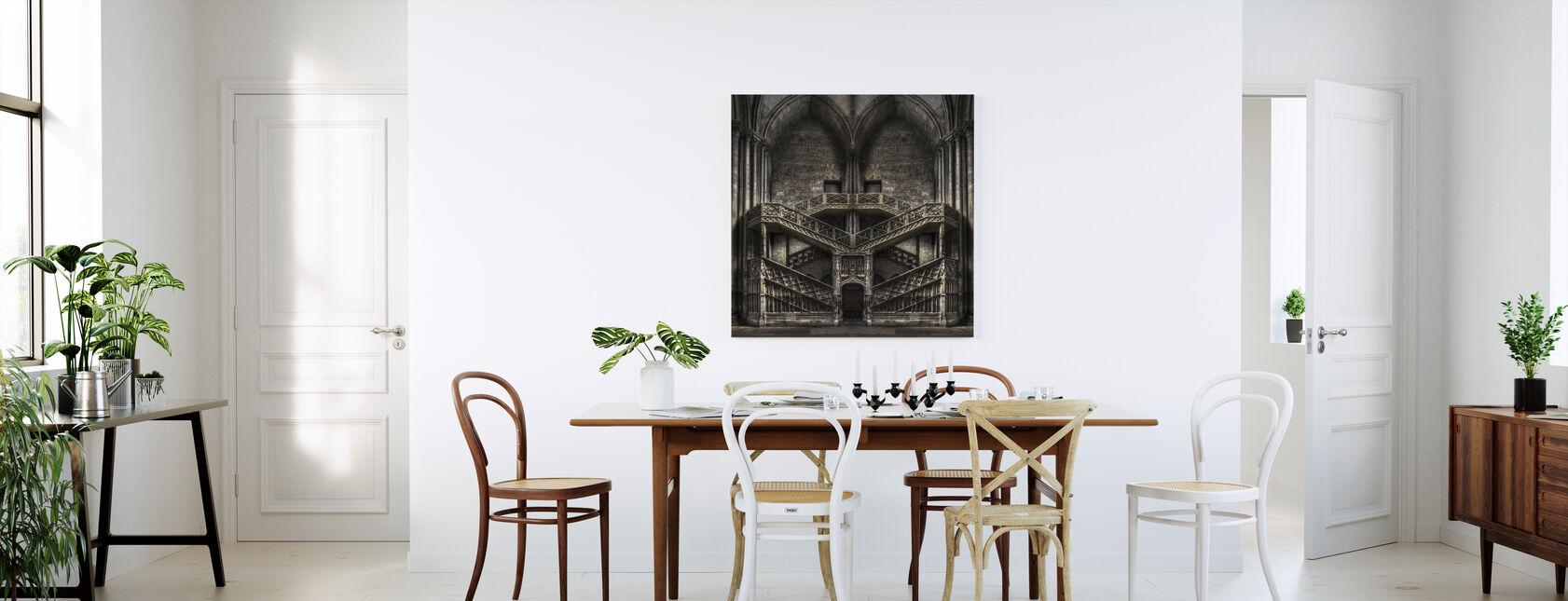 Castle Architecture - Canvas print - Kitchen