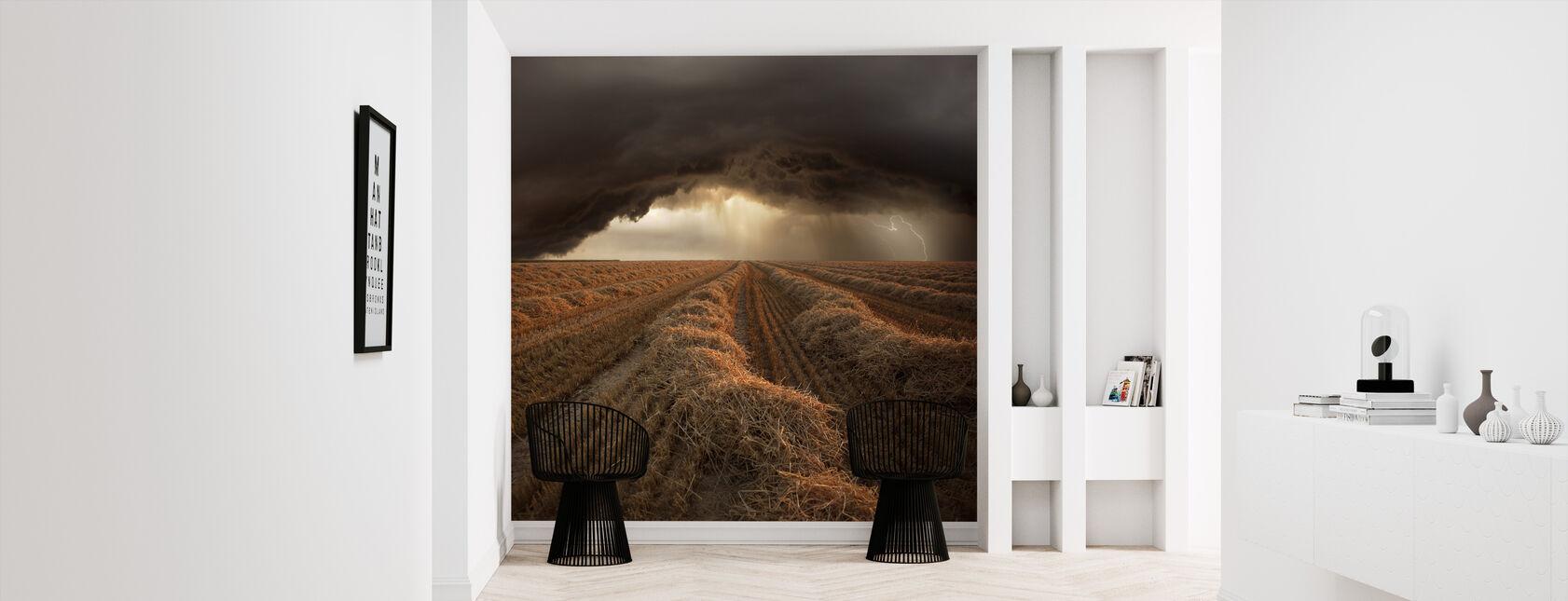 Stormy Fields - Wallpaper - Hallway