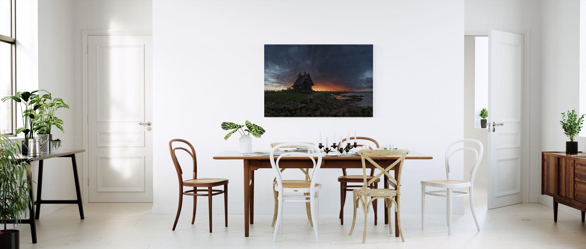 Church at Sea - Canvas print - Kitchen