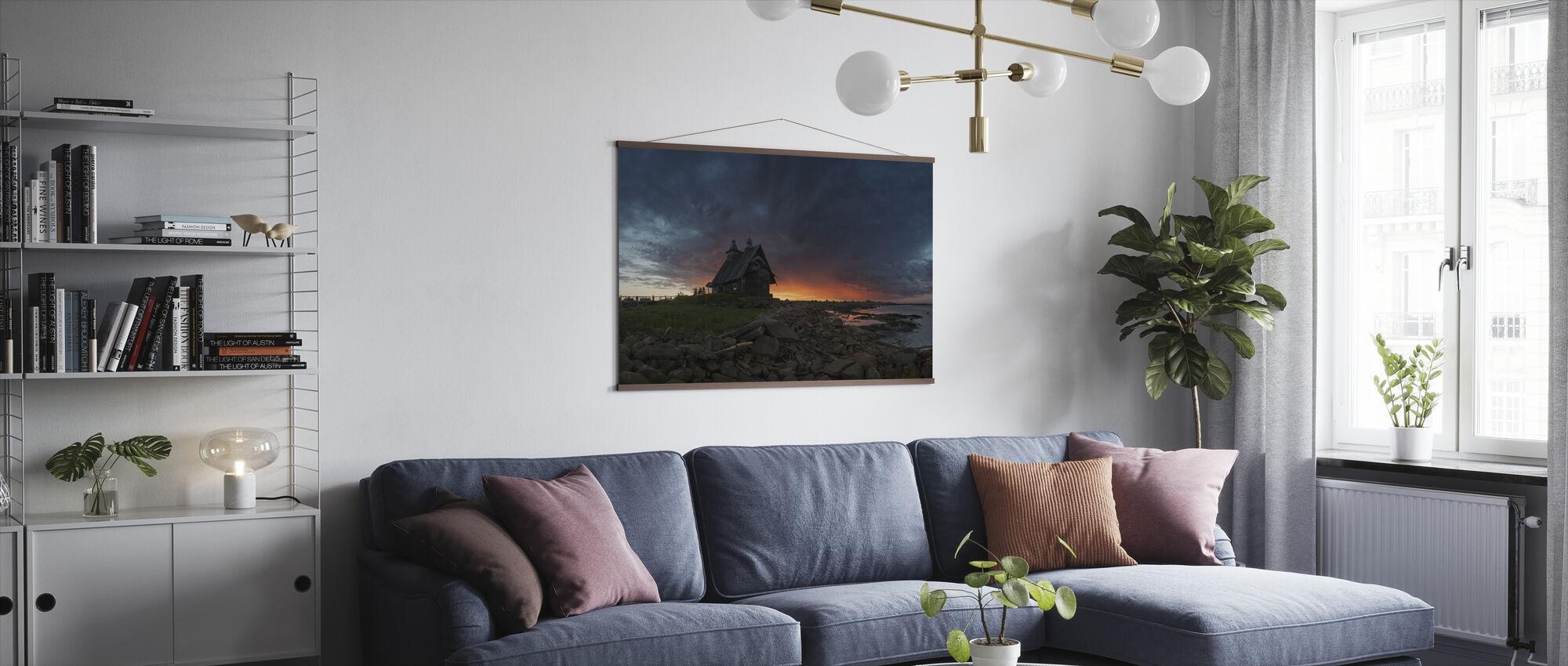 Church at Sea - Poster - Living Room