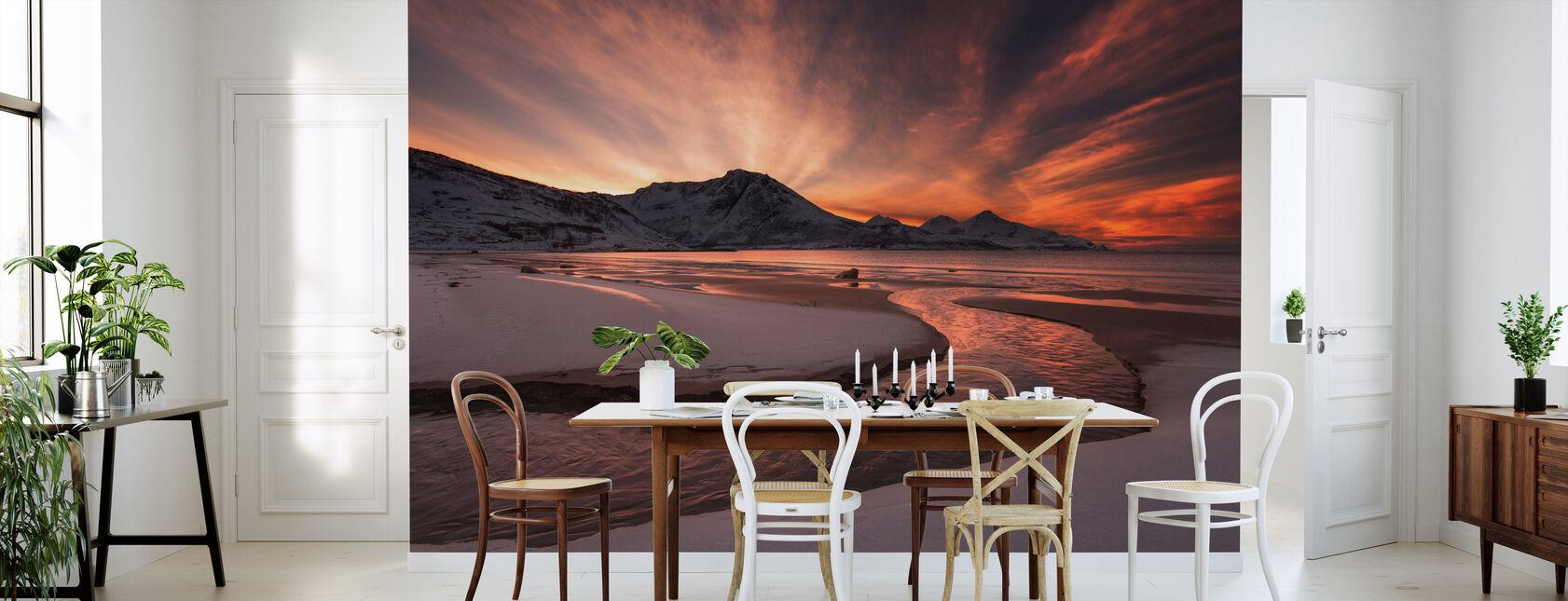 Golden Sunset i Norge - Tapet - Kjøkken