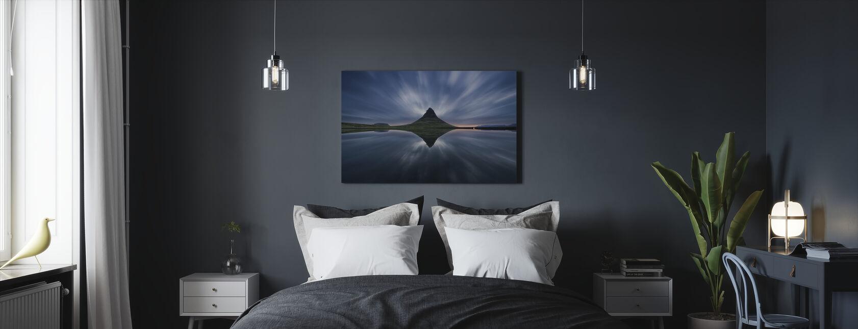 Kirkufjell - Obraz na płótnie - Sypialnia