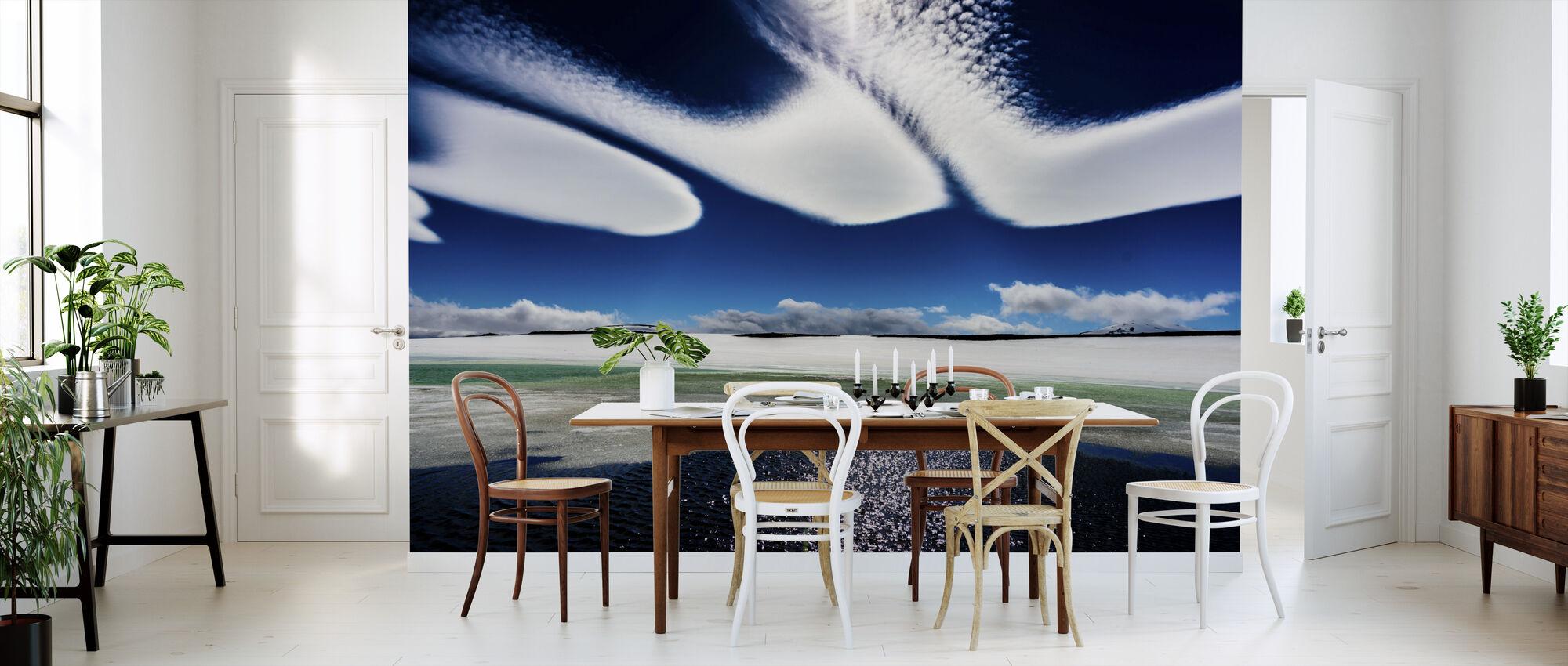 Islandske skyer - Tapet - Kjøkken