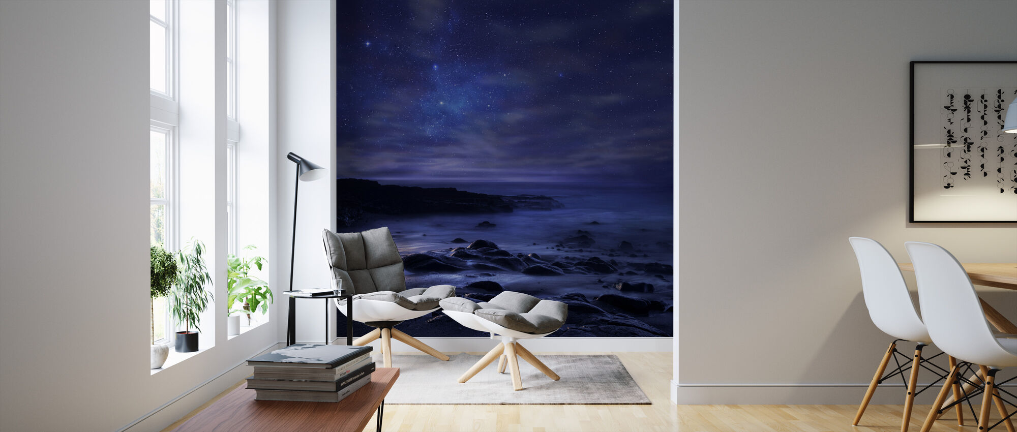Purple Sky - Wallpaper - Living Room