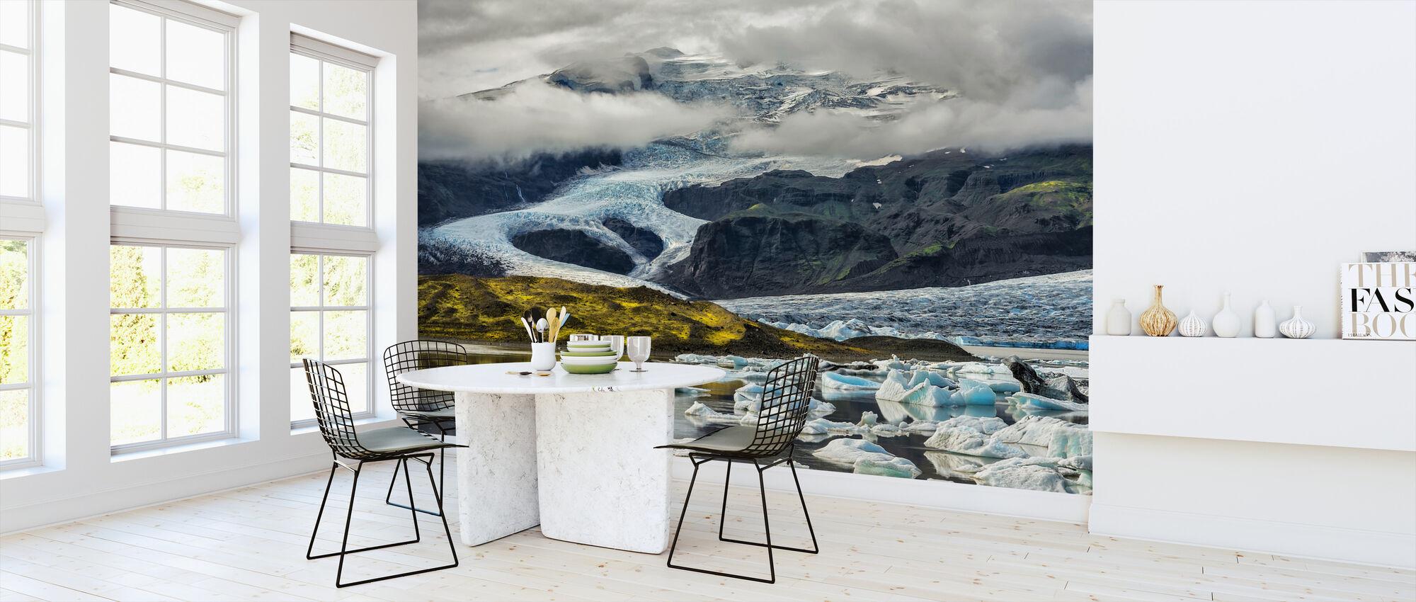 Islandsk isbre - Tapet - Kjøkken