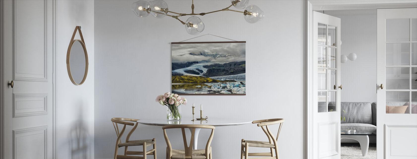 Icelandic Glacier - Poster - Kitchen