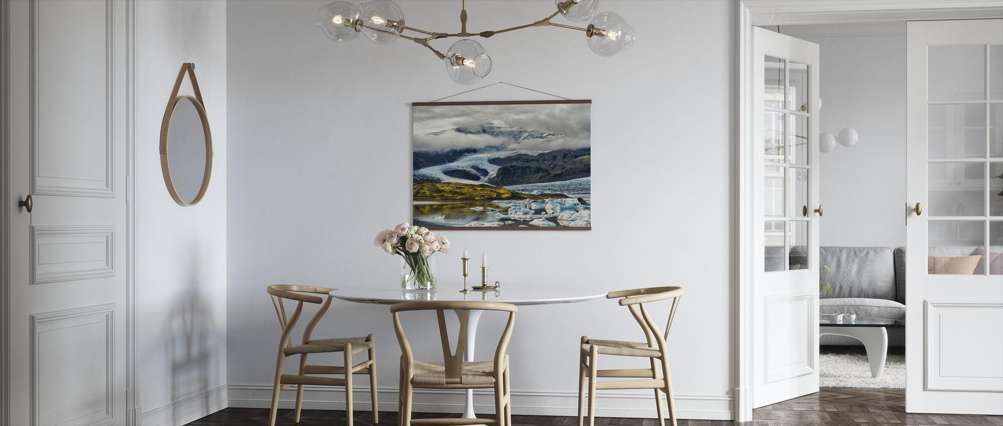 Islandsk isbre - Plakat - Kjøkken
