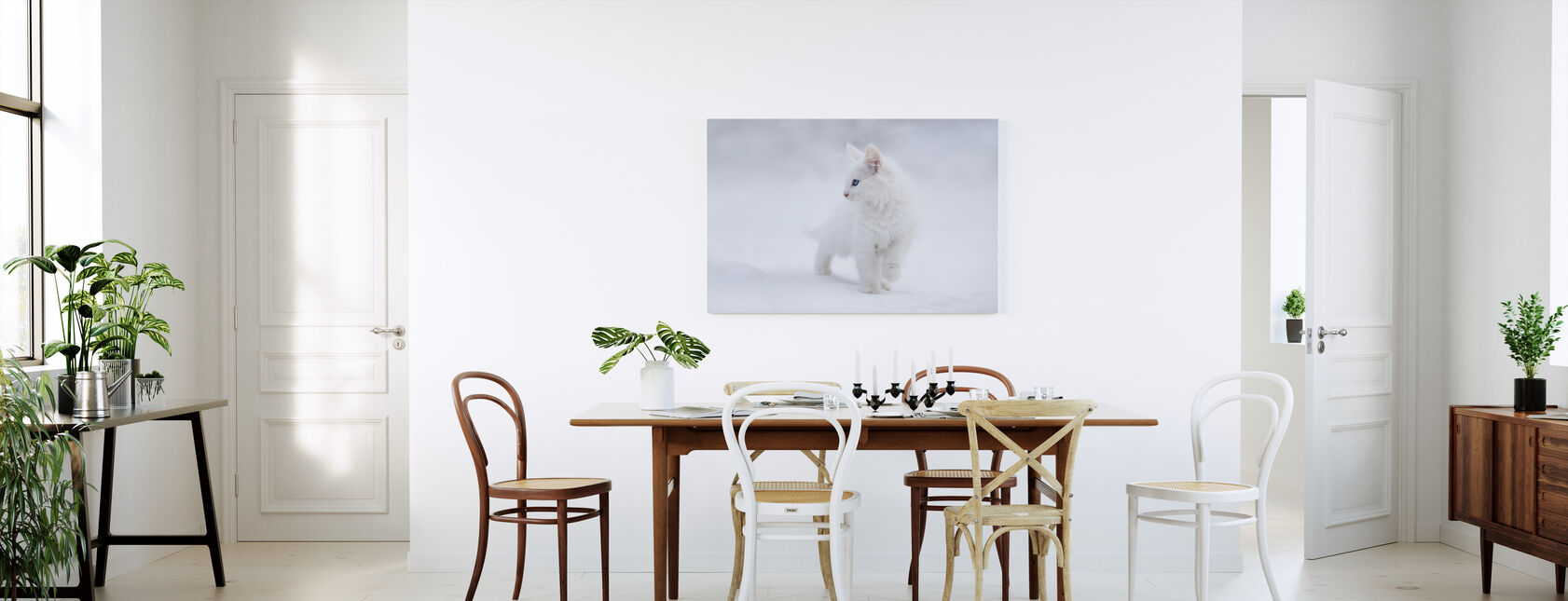 White as Snow - Canvas print - Kitchen
