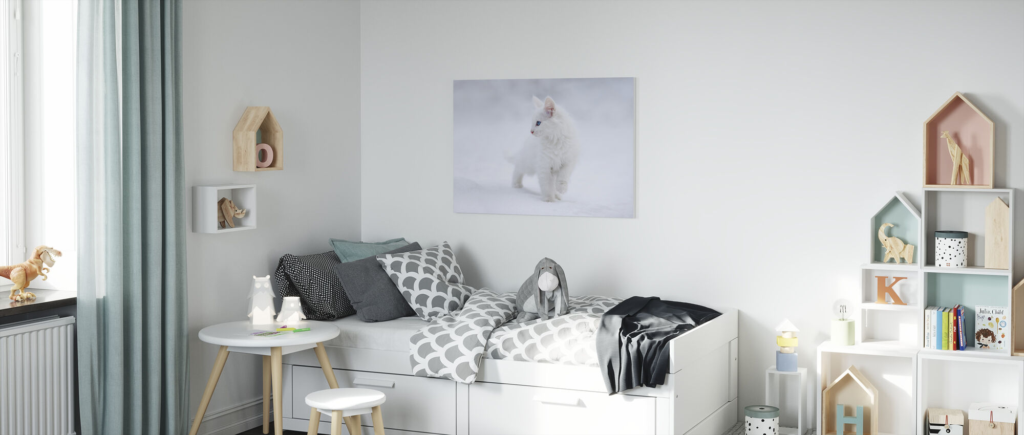White as Snow - Canvas print - Kids Room