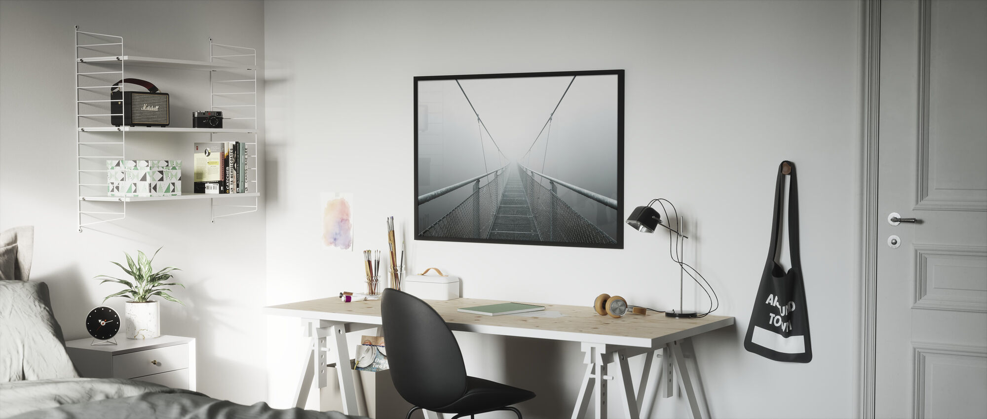 Path to Infinity - Framed print - Kids Room
