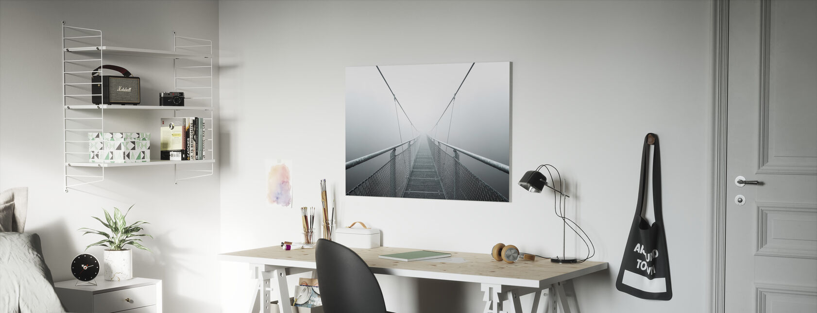 Path to Infinity - Canvas print - Kids Room