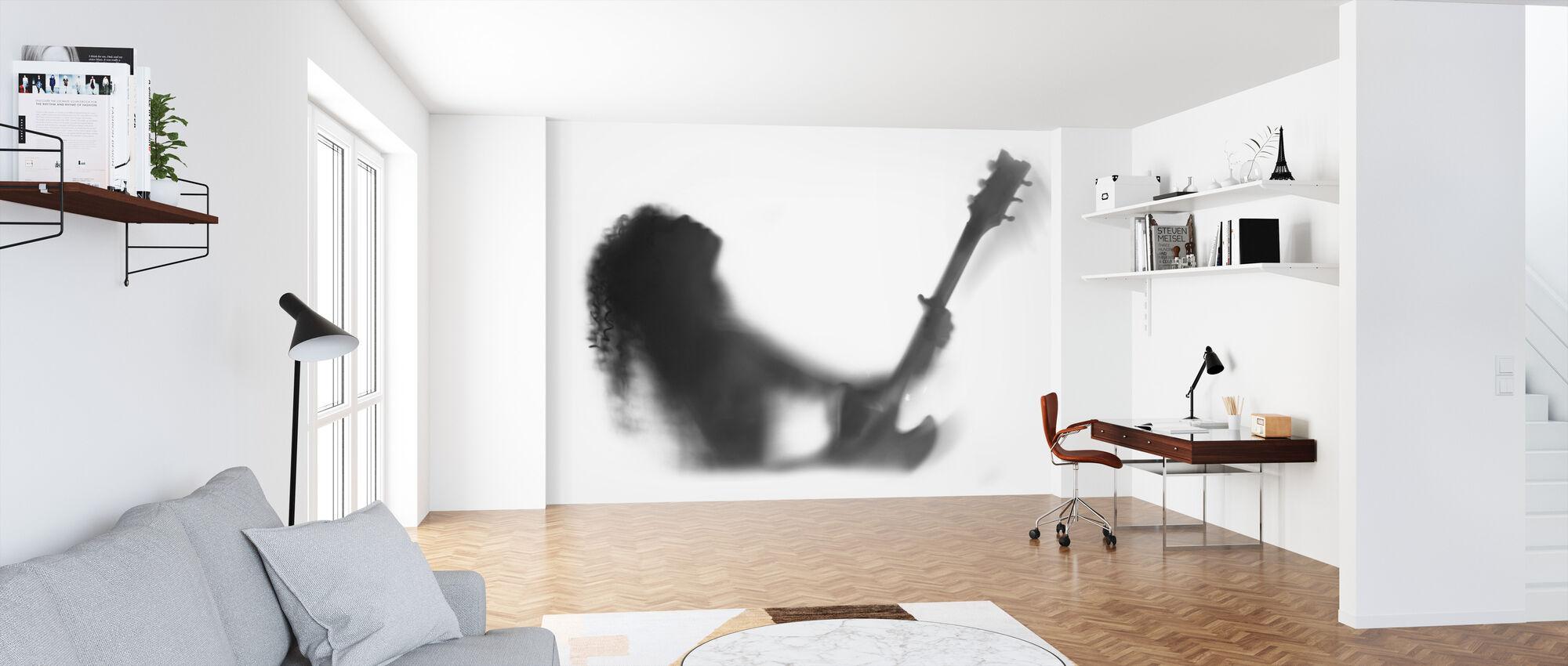 Guitar Solo - Wallpaper - Office