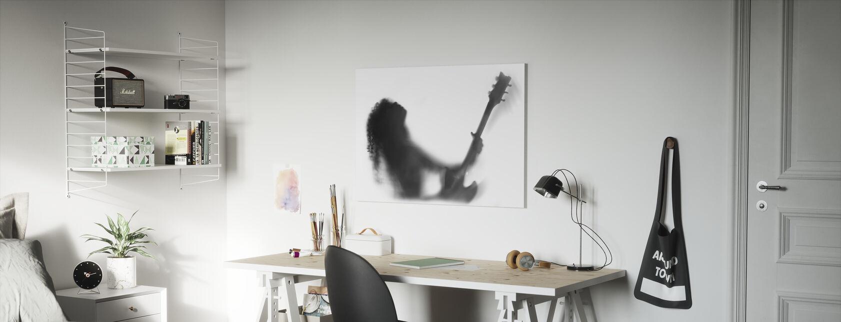 Gitar Solo - Lerretsbilde - Barnerom