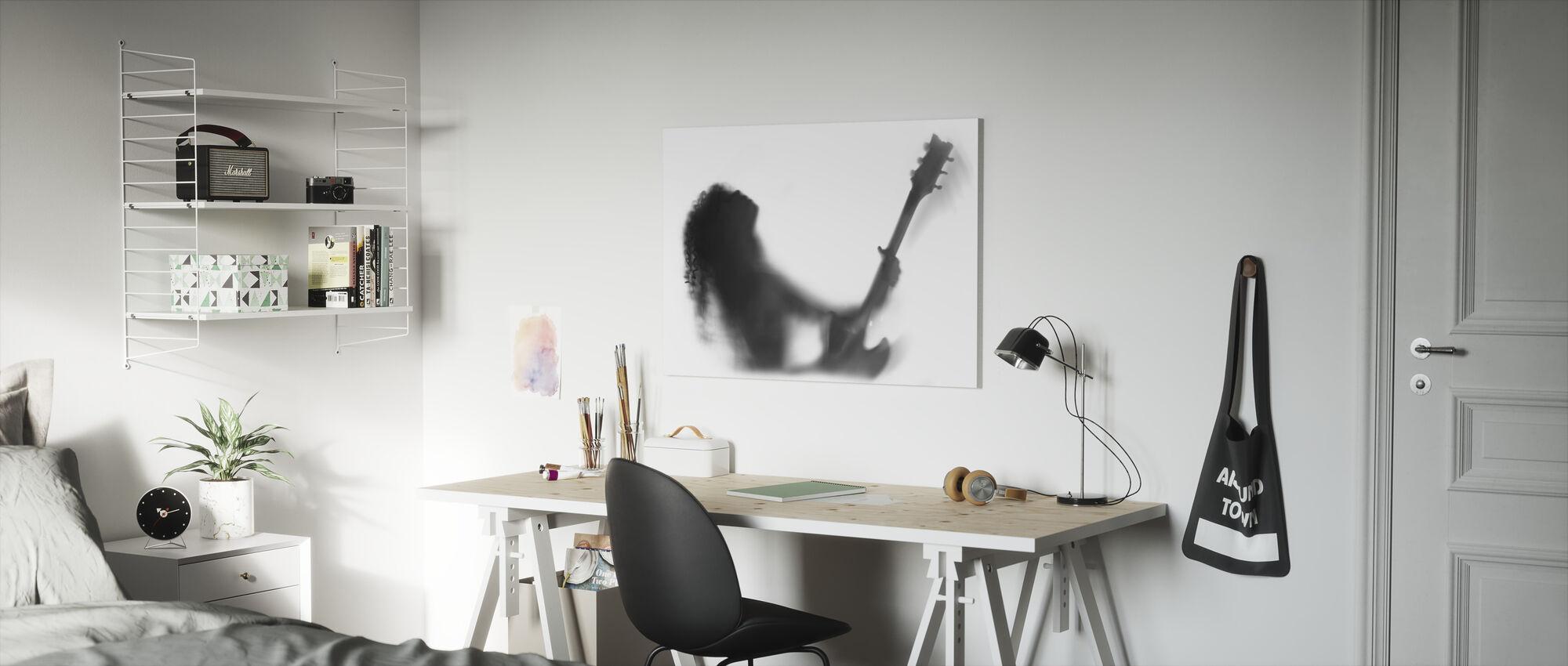 Gitaar Solo - Canvas print - Kinderkamer