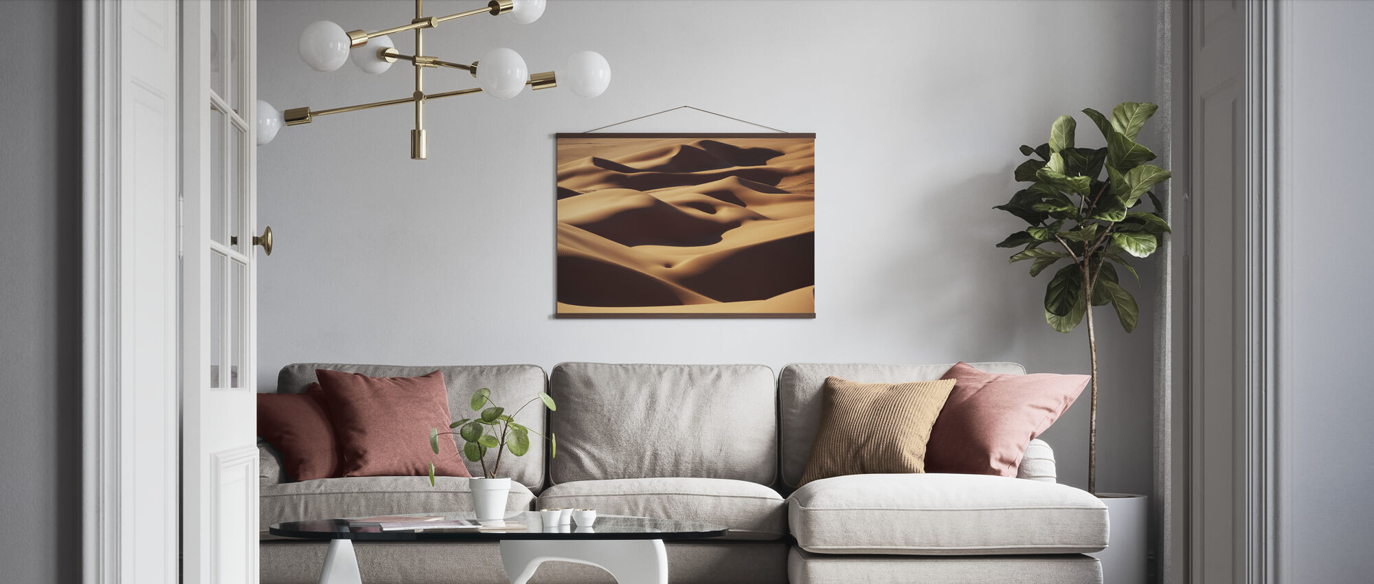 Sand Landscape - Poster - Living Room