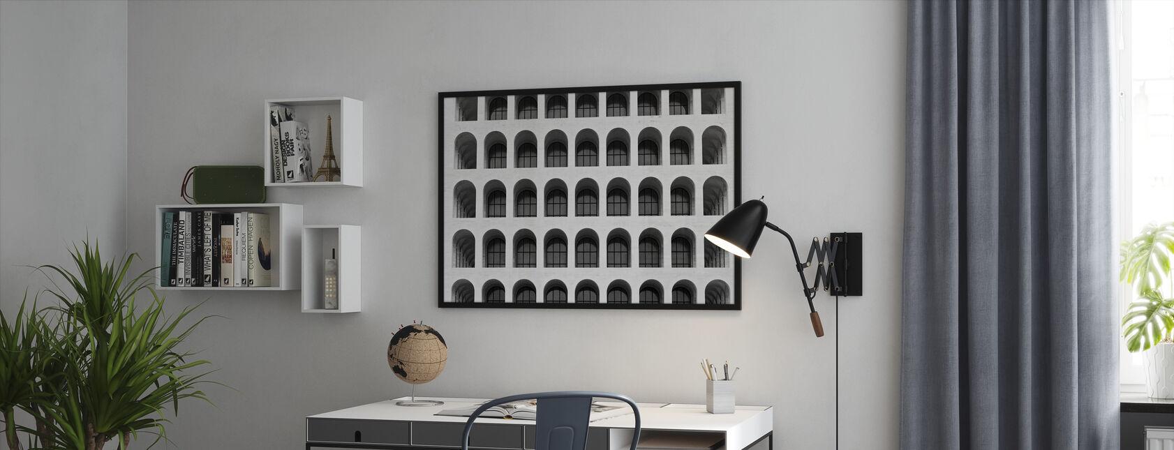 Colosseum-vinduer - Innrammet bilde - Kontor