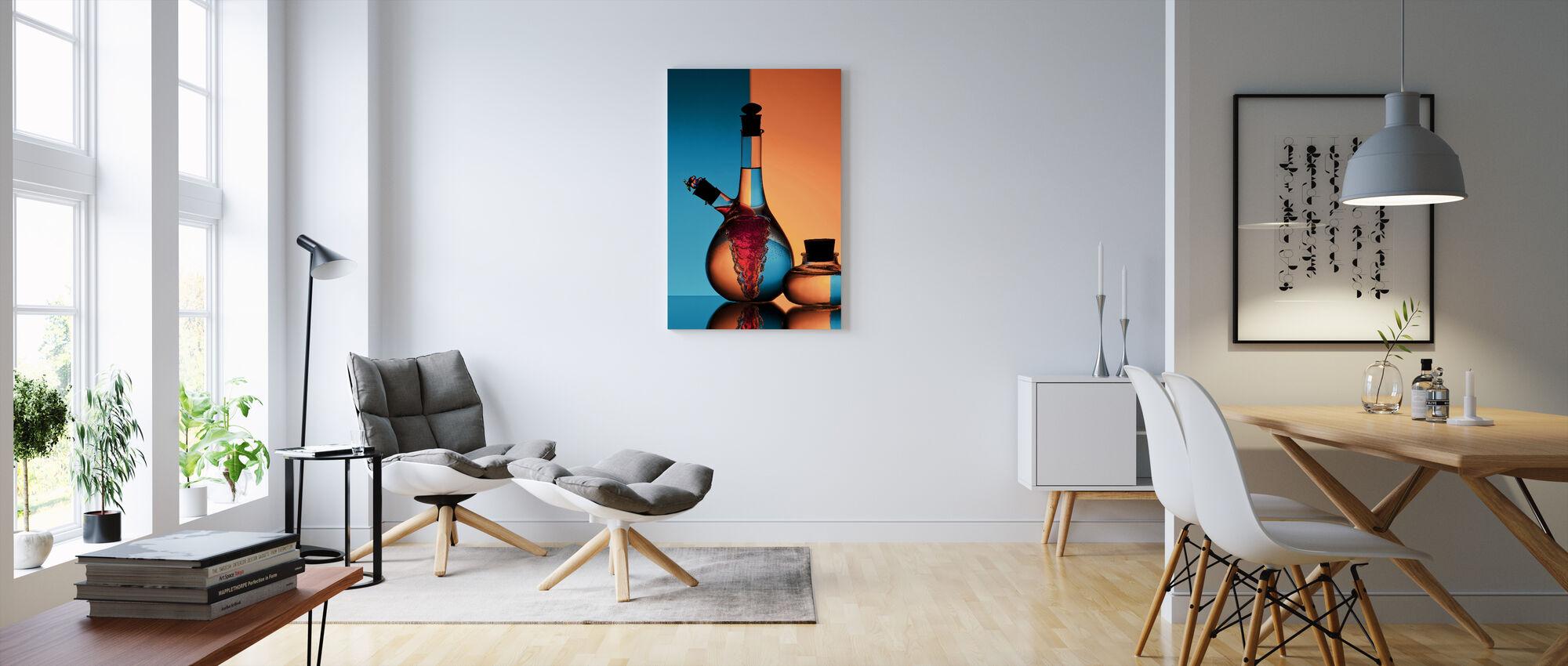 Oil & Vinegar - Canvas print - Living Room