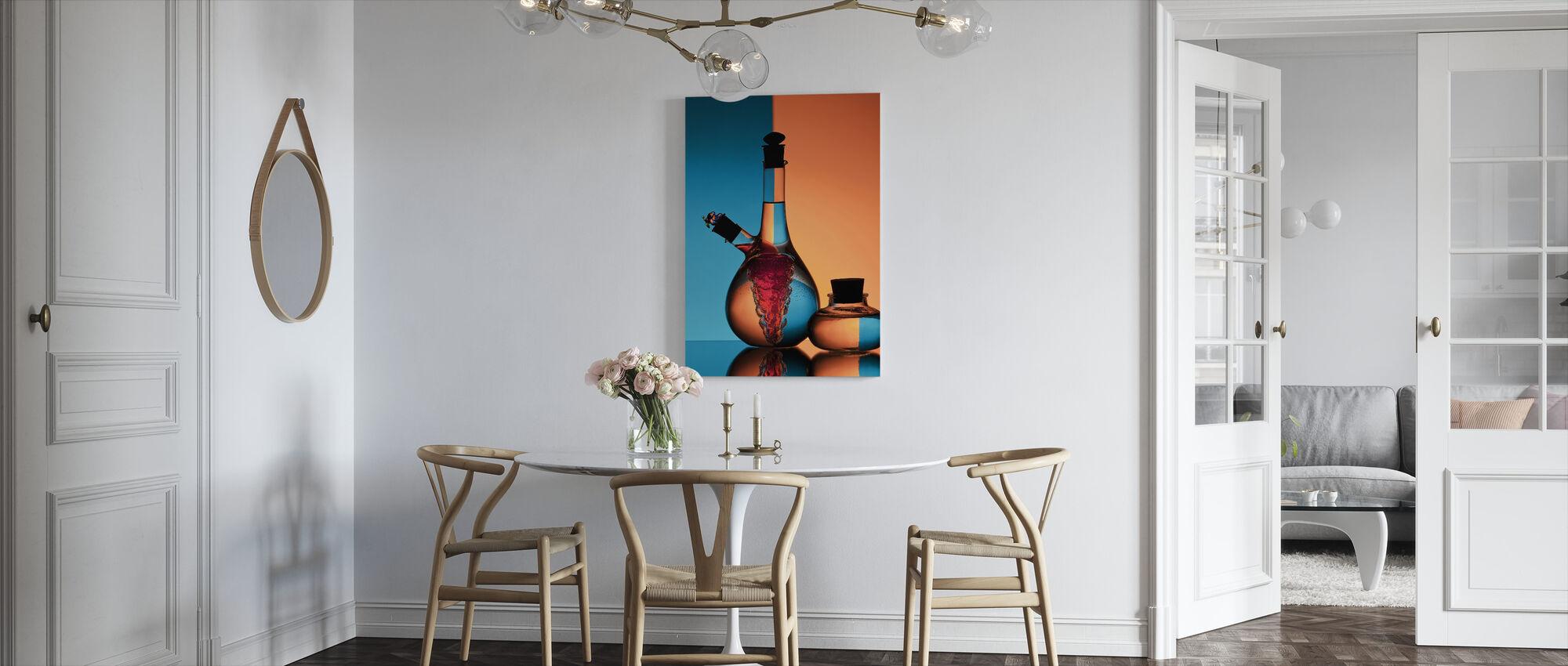 Oil & Vinegar - Canvas print - Kitchen