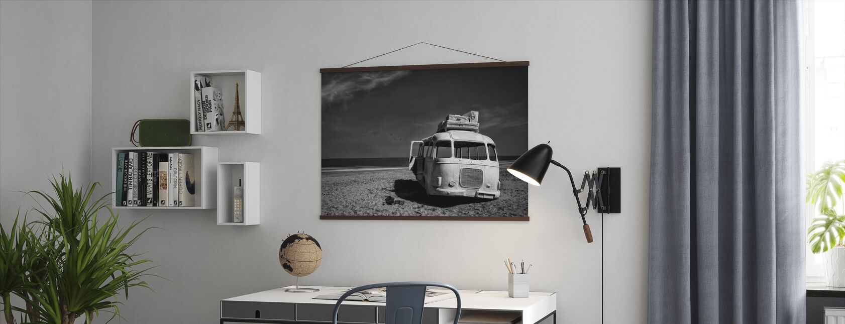 Beached Bus - Poster - Office