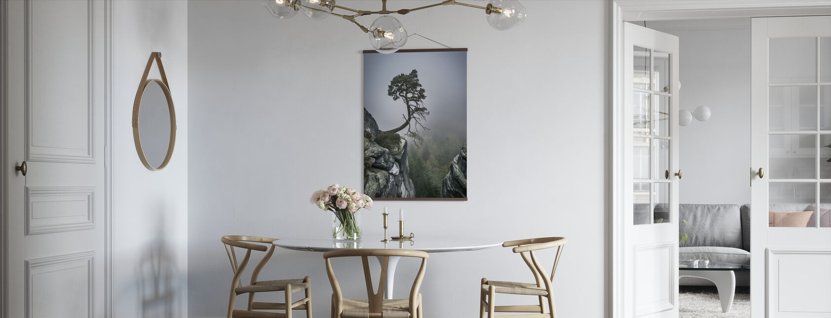 Tree on Mountain - Poster - Kitchen