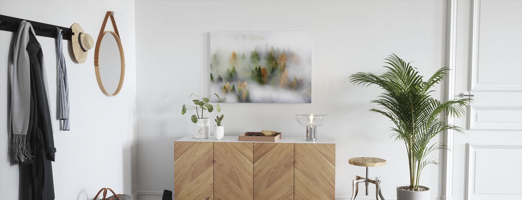 Sumuinen syksy - Canvastaulu - Aula