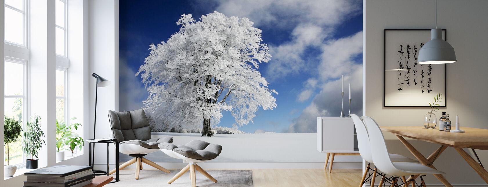 Vinter Træ - Tapet - Stue