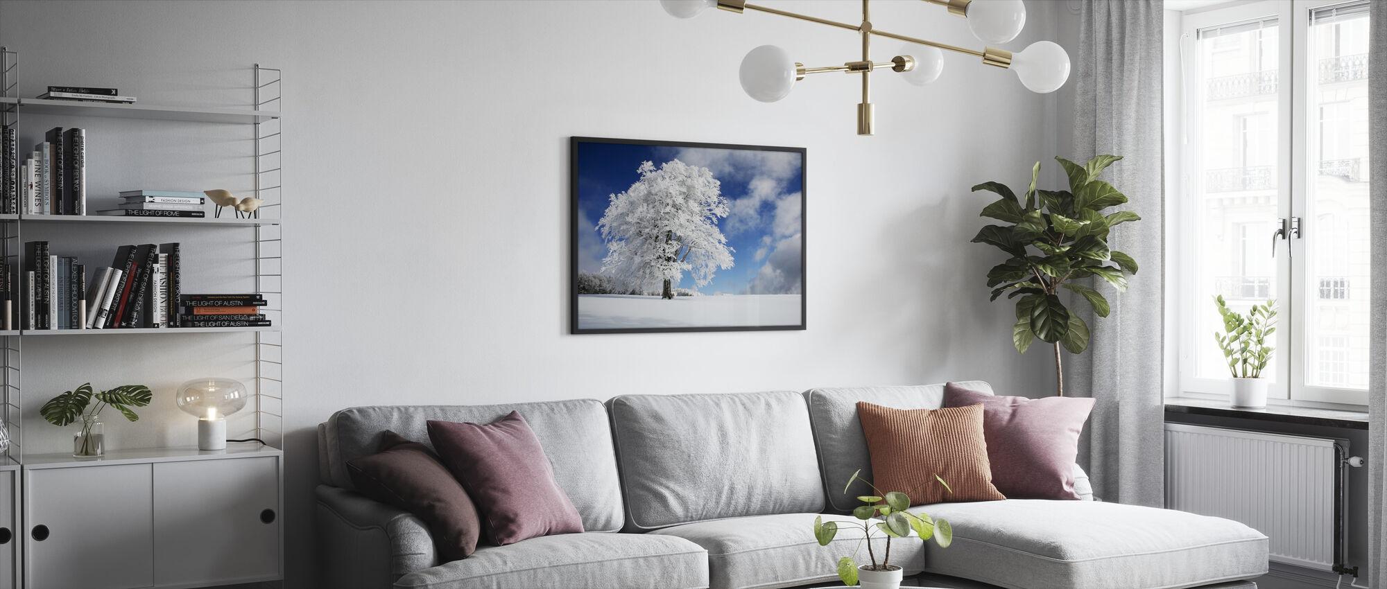 Winter Tree - Framed print - Living Room